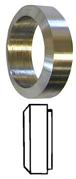 Surge-Style Roll-On Ferrule--1.5""