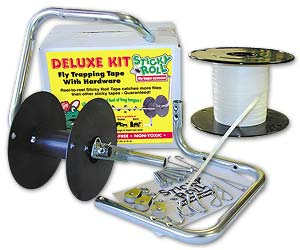 Sticky Roll Fly Tape 600' Deluxe Kit w/ Hardware