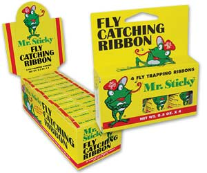 Mr. Sticky Fly Ribbon 4-Pack--Cs/24