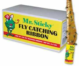 Mr. Sticky Bulk Pack Fly Ribbon--Cs/100