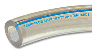 "Custom-Cut 1/2"" ID M34R Tubing--Foot"