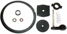 Replacement 9 pc Flo-Star rebuild kit, with valve