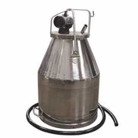 65 Lb. SS Bucket Assembly f/One Goat or Sheep