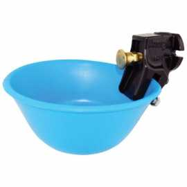 Push-Button Waterer w/ Plastic Bowl