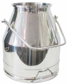 Stainless Steel Bucket CHOOSE SIZE - Long Handle