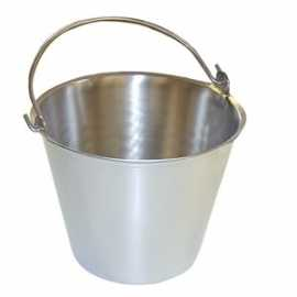 Stainless Steel Type 304 Pail - Case of 6