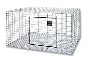 Rabbit Hutch 30'' x 30'' x 16''