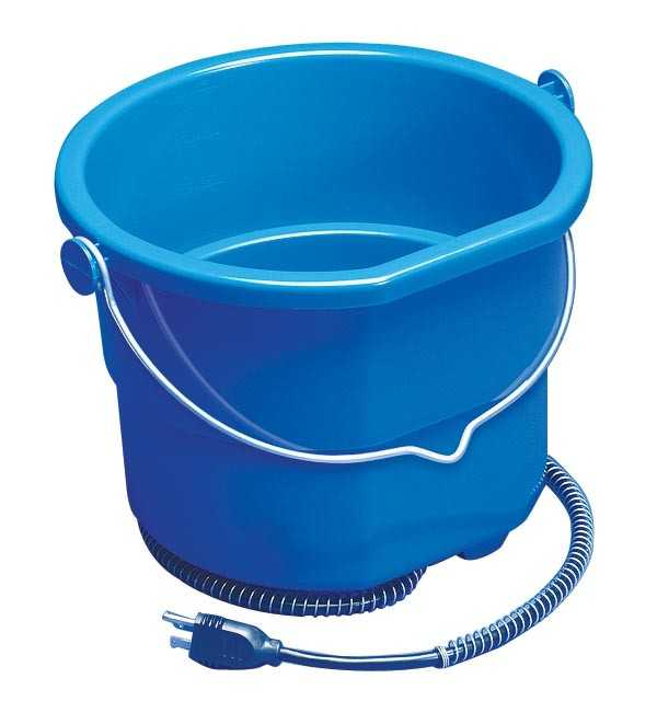 10 Qt. Heated Flat-Back Bucket