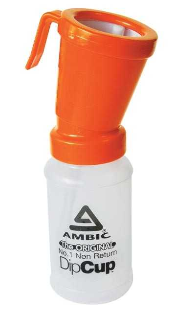 Ambic Bagged Non-Return Dip Cup