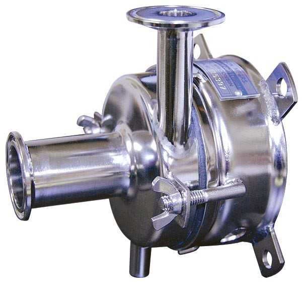 "Anderson SS Milk Pump w/ 1"" Vertical Discharge"