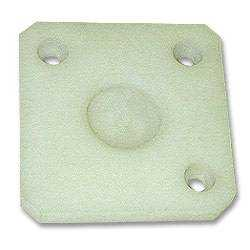 White Nylon Wear Pad for Hose Support Arms