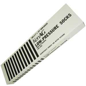 "KenAg 2-1/4""x12"" Low Pressure Sock--12 Boxes of 100"