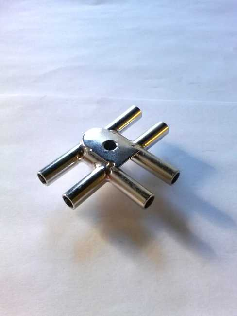 "Stainless 9/32"" Side to Side Air Chamber f/300E Claw"