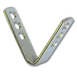 Plated V-Fastener for Neck Tags
