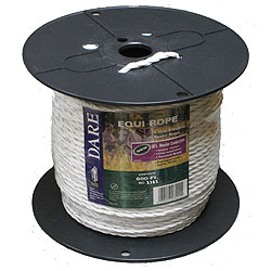 6MM White Poly Twisted Rope - 600'
