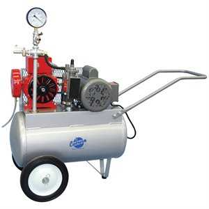 Original PortaMilker w / 1 HP Electric Motor for Two Buckets