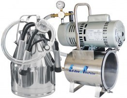 NuPulse Mini Milker Kit with NuPulse Bucket Milker for Cows or Goats