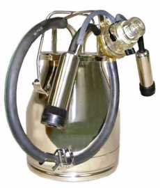 NuPulse Stainless Bucket Assembly - 1 or 2 Goats
