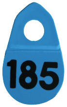 Bock's® Identi Company Herky Tags - NUMBERED
