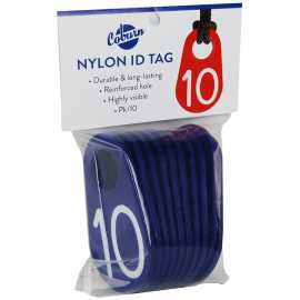 Coburn Nylon Neck Tags - Prepackaged Groups of 10